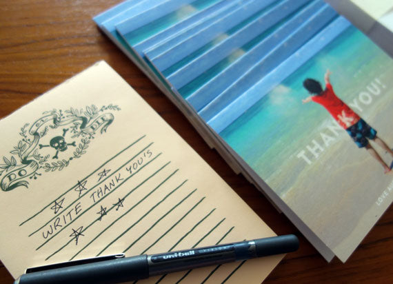 How To Write A Thank You Note  Printable Press