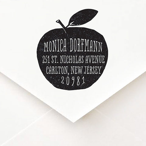 Apple Address Stamp - $55