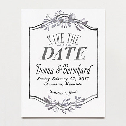 Arbor Save The Date Postcard