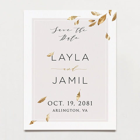 Avalon Save The Date Postcard