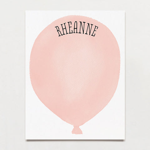 Pink Water Balloon Kid's Stationery