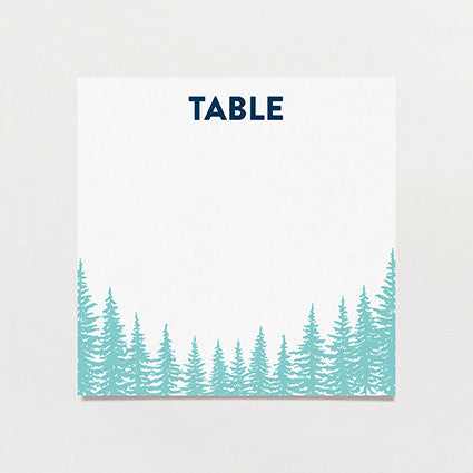 Big Sky Country Table Number