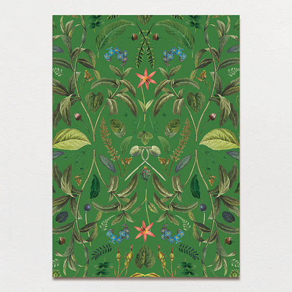 Botanical Baroque Backing