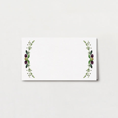 Botanical Baroque Place Card