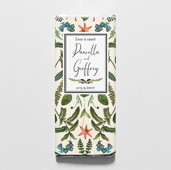 Botanical Baroque Printable Candy Bar Wrapper—$14.95