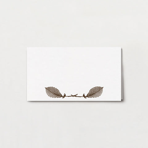 Chestnut Place Card