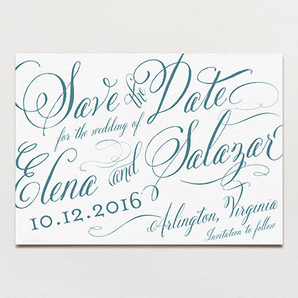Elena Save The Date