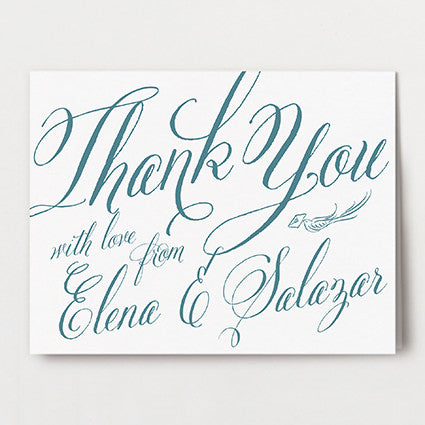 Elena Thank You Folded