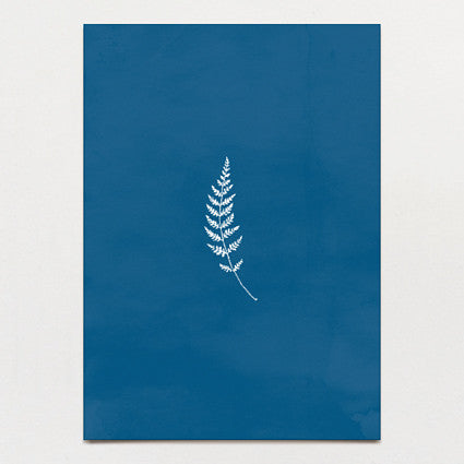 Fern Print Backing