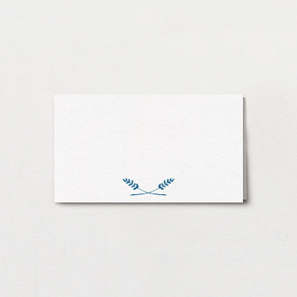 Fern Print Place Card