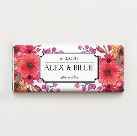 Floral Bounty Printable Candy Bar Wrapper—$14.95