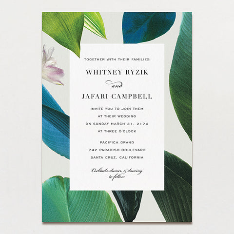 Havana Wedding Invitation