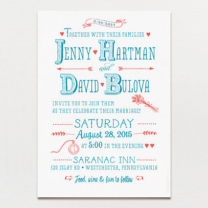 Little Details Wedding Invitation