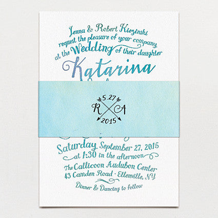 Lulu Belle Wedding Invitation