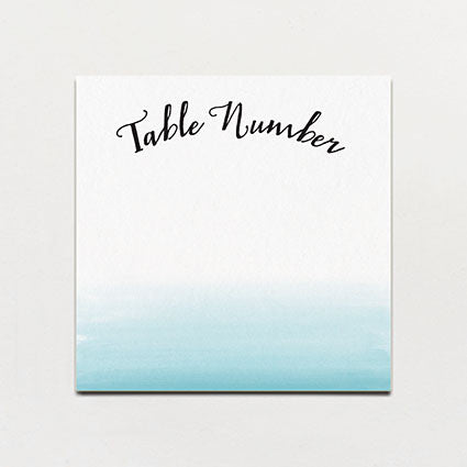 Lulu Belle Table Number