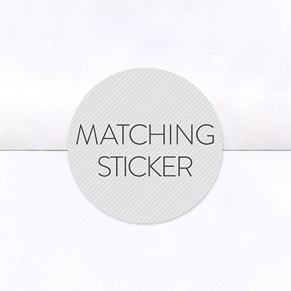 Matching Logo Stickers