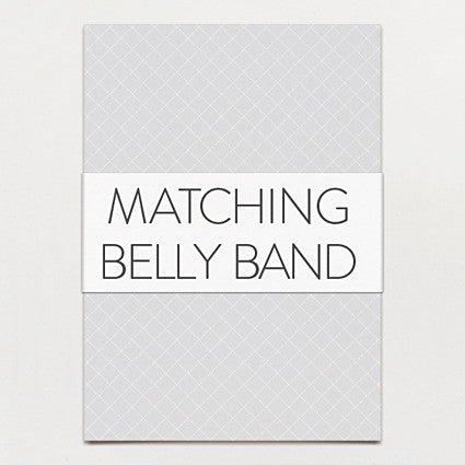 Matching belly band