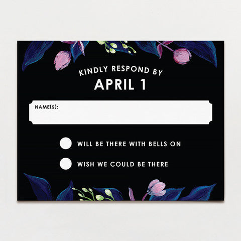 Midnight Garden Response Card