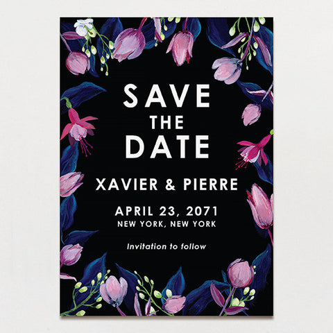 Midnight Garden Save The Date
