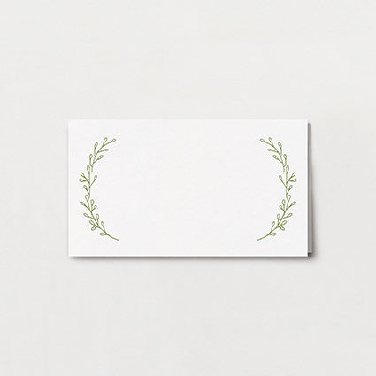 Olive Branch Place Card
