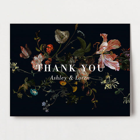 Parisian Thank You Folded