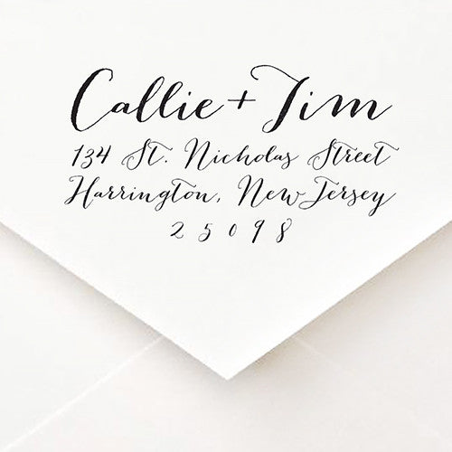 Pen and Ink Address Stamp - $45