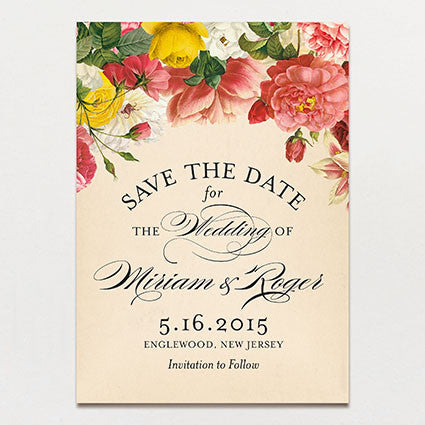Romantique Save The Date