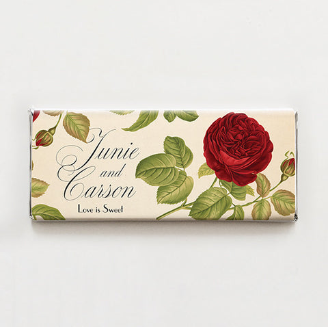 Rose Printable Candy Bar Wrapper—$14.95