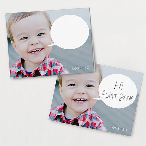 Say Anything Kid's Stationery