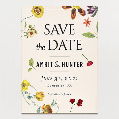 Scattered Save The Date