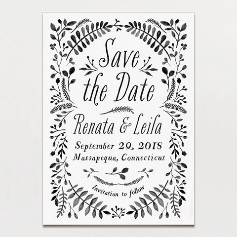 Secret Garden Save The Date
