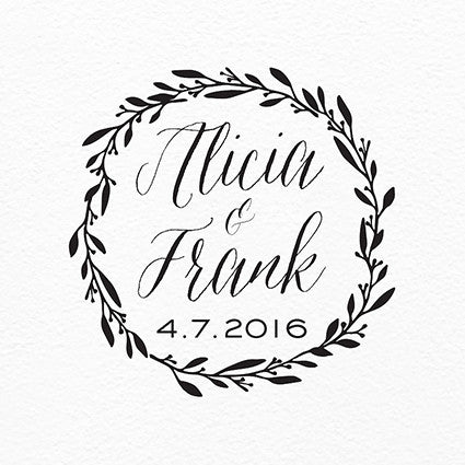Simple Wreath Printable Logo - $25