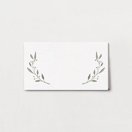 Simple Wreath Place Card