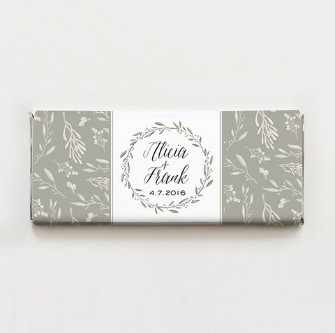 Simple Wreath Printable Candy Bar Wrapper—$14.95