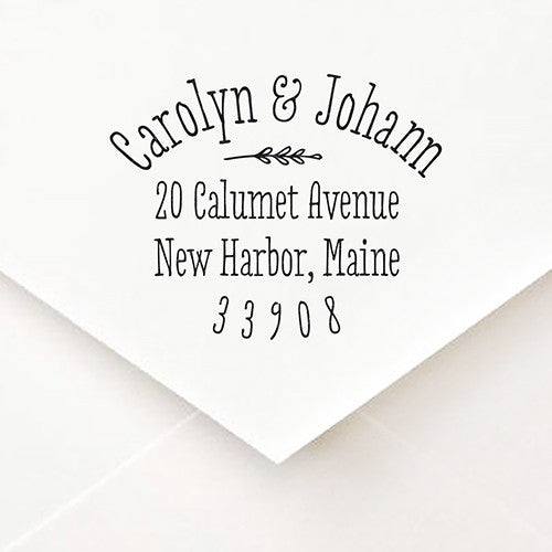 Sweet and Simple Address Stamp - $45