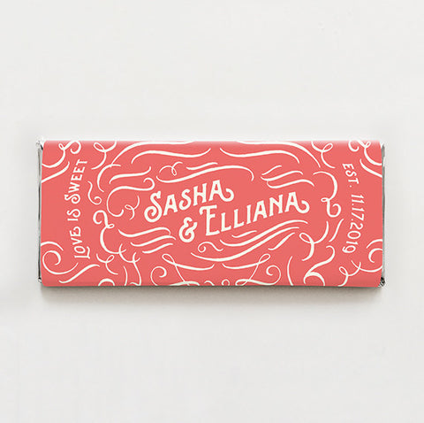 Sweet Swash Printable Candy Bar Wrapper—$14.95