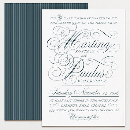 Swoon Wedding Invitation