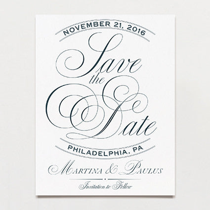 Swoon Save The Date Postcard