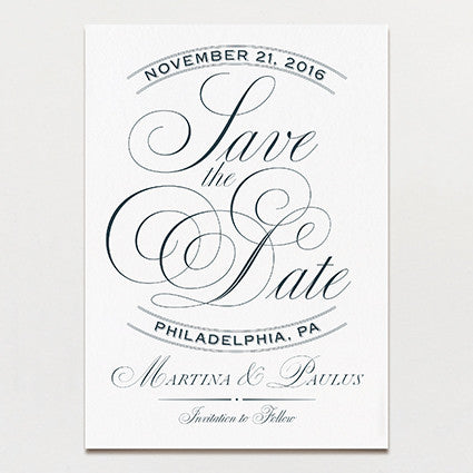 Swoon Save The Date