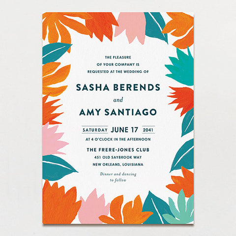 Talavera Wedding Invitation