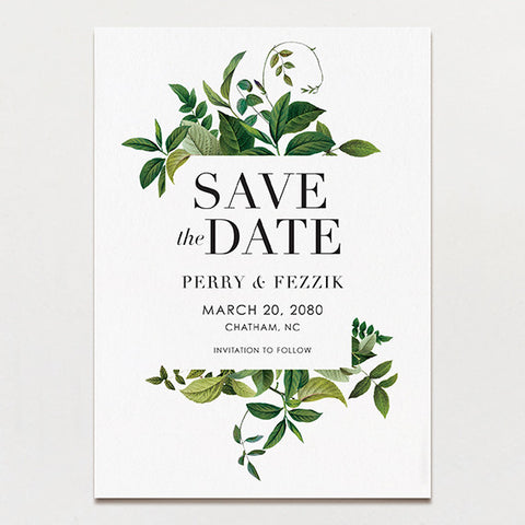 Tender Tendrils Save The Date