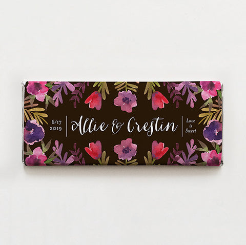 Tulips and Petunias Printable Candy Bar Wrapper—$14.95