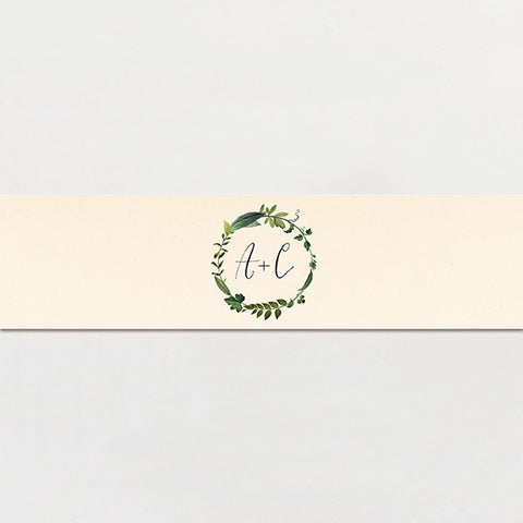 Twig Initials Belly Band