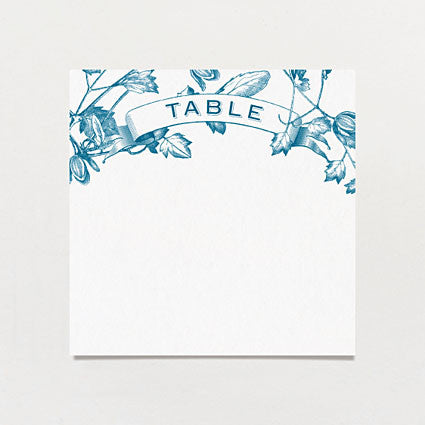 Twining Vines Table Number