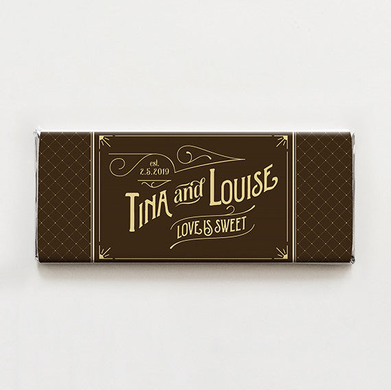 Vintage Sweet Printable Candy Bar Wrapper—$14.95