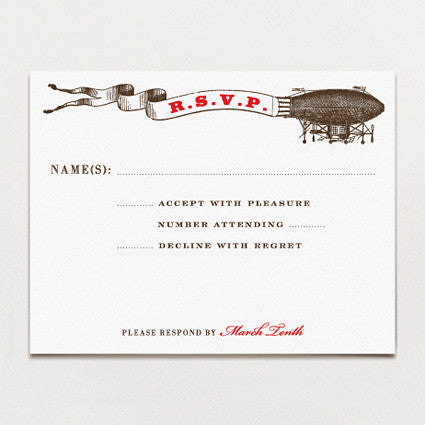 Aerial Steam Response Postcard