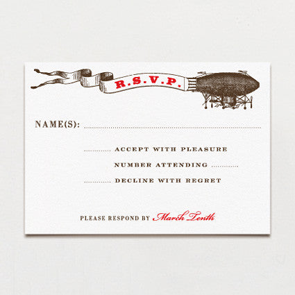Aerial Steam Response Card
