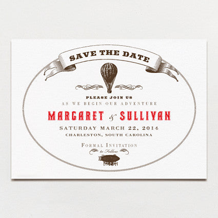 Aerial Steam Save The Date