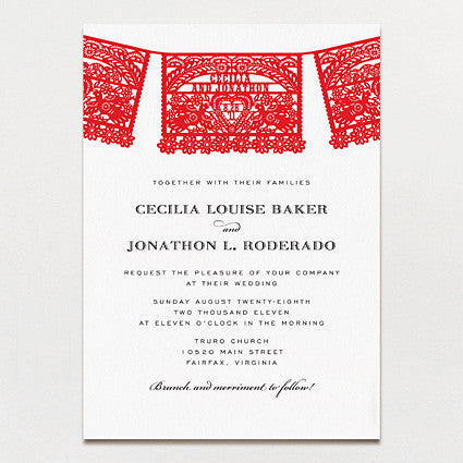 Amor Wedding Invitation