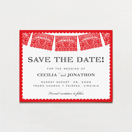 Amor Save The Date Postcard
